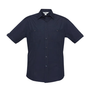 The Bondi Shirt | Mens | Short Sleeve | Navy