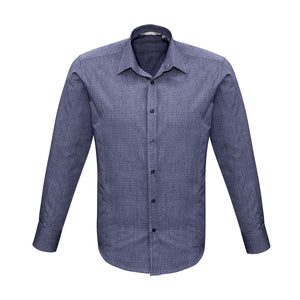 The Trend Shirt | Mens | Long Sleeve | Midnight Blue