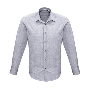 The Trend Shirt | Mens | Long Sleeve | Silver