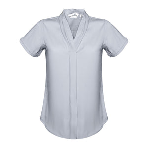 The Madison Shirt | Ladies | Short Sleeve | Silver