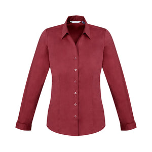 The Monaco Shirt | Ladies | Long Sleeve | Cherry