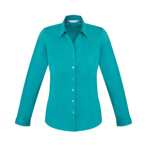 The Monaco Shirt | Ladies | Long Sleeve | Teal