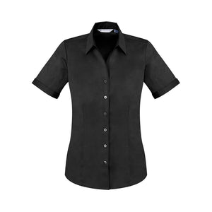 The Monaco Shirt | Ladies | Short Sleeve | Black