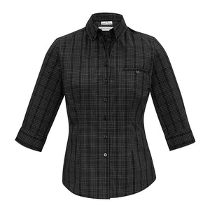 The Harper Shirt | Ladies | 3/4 Sleeve | Black