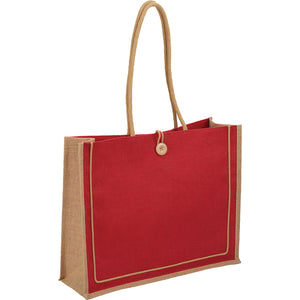 The Jute Button Tote