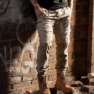Bad Saviour Cuffed Work Pant | Khaki