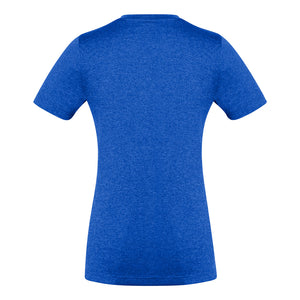 The Aero Tee | Ladies | Electric Blue Marle