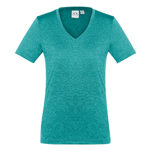 The Aero Tee | Ladies | Teal Marle