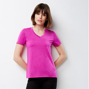 The Aero Tee | Ladies | Magenta Marle