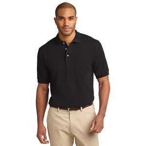 The Tall Heavyweight Pique Polo | Mens | Short Sleeve