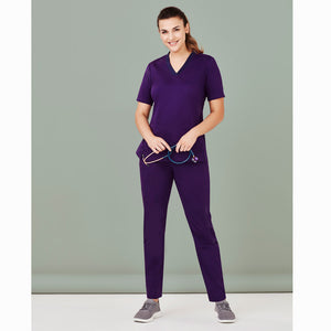 Riley Straight Leg | Purple