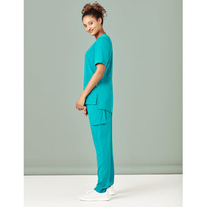 The Slim Leg Scrub Pant | Ladies | Teal