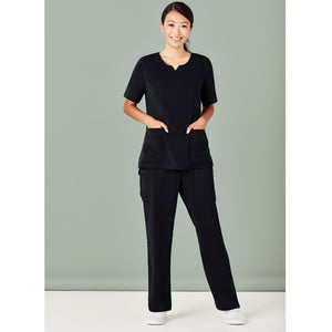 The Straight Leg Scrub Pant | Ladies | Black