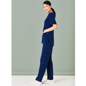 The Straight Leg Scrub Pant | Ladies | Navy