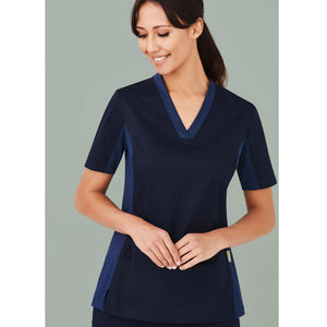 Riley V Neck Scrub Top | Ladies