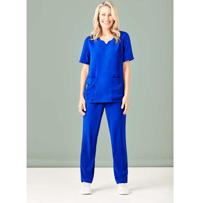 The Round Neck Scrub Top | Ladies