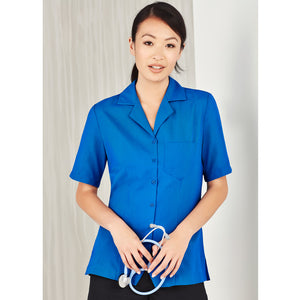 The Oasis Shirt | Ladies | Overblouse | Mid Blue