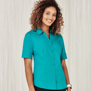 The Monaco Shirt | Ladies | Short Sleeve | Teal