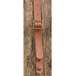 The PVC Apron Strap | Tan