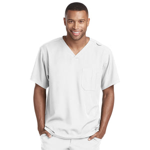 Structure Scrub Top | White