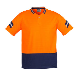 The Astro Polo | Mens | Orange/Navy