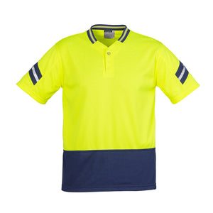 The Astro Polo | Mens | Yellow/Navy
