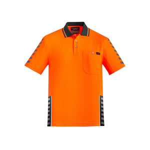 The Komodo Polo | Mens | Short Sleeve | Orange/Charcoal