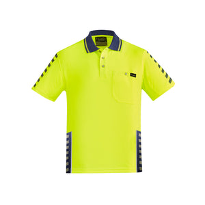 The Komodo Polo | Mens | Short Sleeve | Yellow/Navy