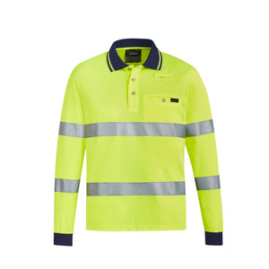 The Rick Polo | Mens | Long Sleeve | Yellow
