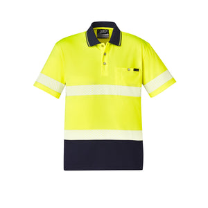 The Jason Polo | Mens | Short Sleeve | Yellow/Navy