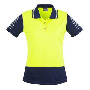 The Hi Vis Zone Polo | Short Sleeve | Ladies
