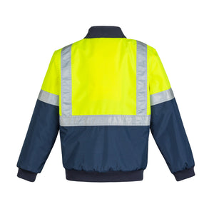 The Lincoln Jacket | Mens | Taped | Yellow/Navy