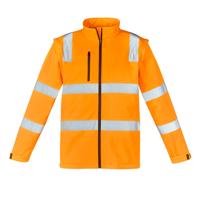 The Hi Vis Vic Rail 2 in 1 Softshell Jacket | Unisex