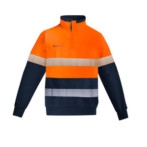 Fire Armour | Taped Jumper | Orange