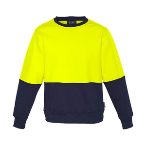 The Ross Crew Jumper | Mens | Yellow/Navy