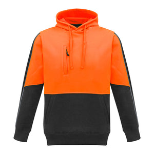 The Grant Hoodie | Mens | Pullover | Orange/Charcoal