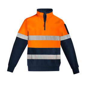 The Justin Jumper | Mens | Orange/Navy