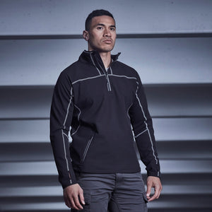 Streetworx Stretch Mid-Layer | Black