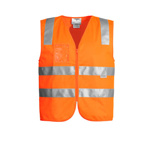 The Tim Vest | Mens | Zip | Orange