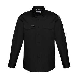 The Nick Shirt | Mens | Long Sleeve | Black