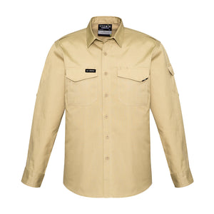 The Nick Shirt | Mens | Long Sleeve | Khaki