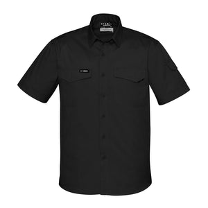 The Nick Shirt | Mens | Short Sleeve | Black