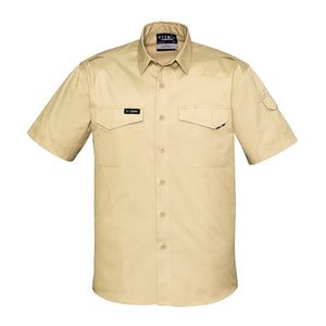 The Nick Shirt | Mens | Short Sleeve | Khaki