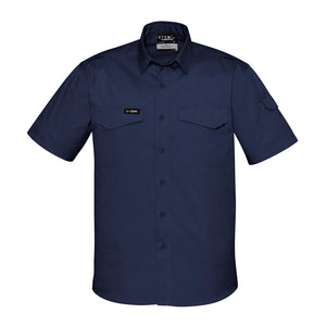 The Nick Shirt | Mens | Short Sleeve | Navy
