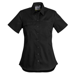 The Jen Shirt | Ladies | Short Sleeve | Black
