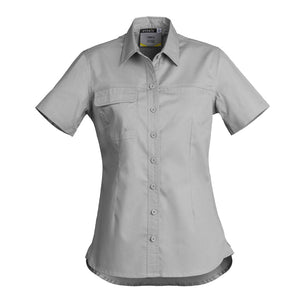 The Jen Shirt | Ladies | Short Sleeve | Grey