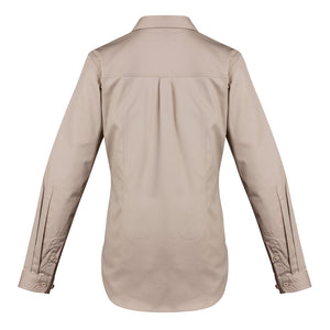 The Jen Shirt | Ladies | Long Sleeve | Sand