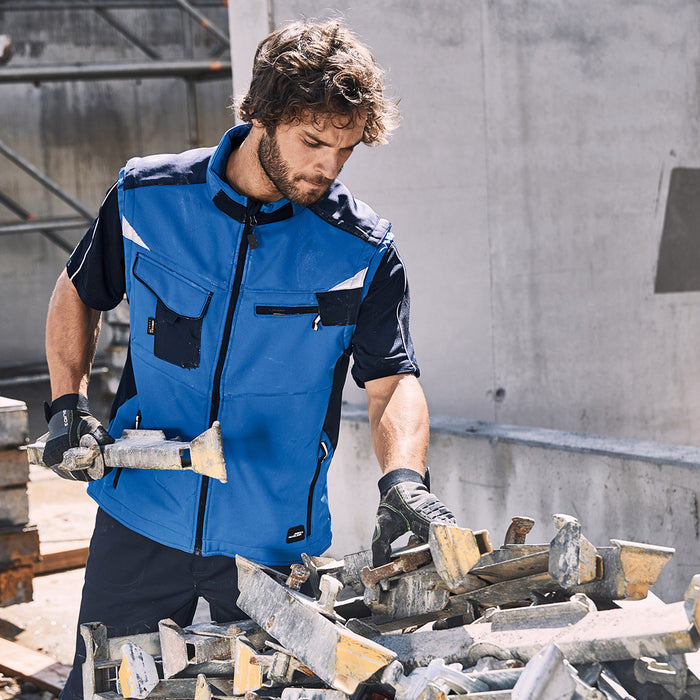 The Workwear Softshell Vest | Mens