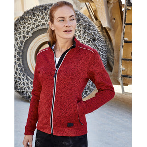 Knitted Fleece | Red