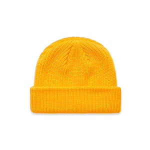 The Cable Beanie | Gold